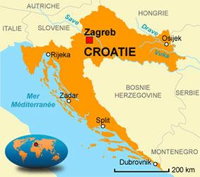 Carte Croatie Mer.Pratical Travel Information For Trips Around The World Wokipi